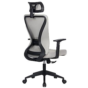 Modern Home Xelo Testa Mid-Back Desk/Office Task Chair, Computer Ergonomic Mesh Back Lumbar Support with Armrests