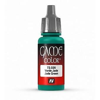 Vallejo Game Color 17ml Acrylic Paint 26 Jade green