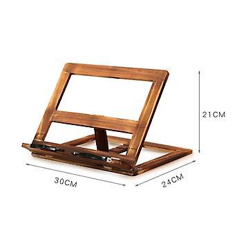 Einfaches Lesen Falten Holz Kiefer Rahmen, Magazin Halter