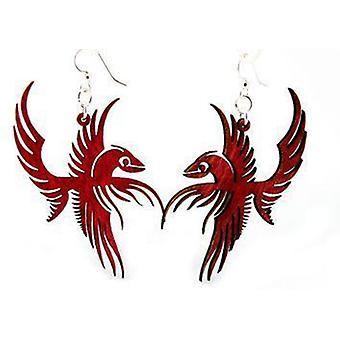 Brincos de Pássaros Phoenix