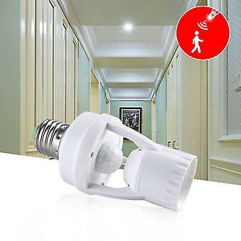 Bewegingssensor Switch E27 12w 220v Inductielamp, Human Body Illuminator Licht