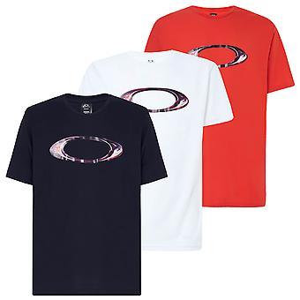 Oakley Mens 2021 Gemarmerde ellipse ademende hydrolix vocht wicking T-shirt
