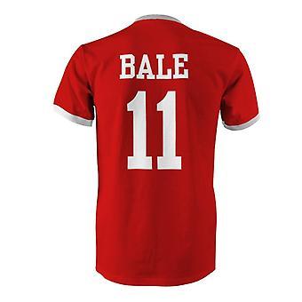Gareth Bale 11 Wales Country Ringer T-Shirt