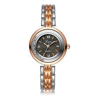 LVPAI P139 Casual Style Ultra Thin Design Women Bracelet Watch Full Steel Quart