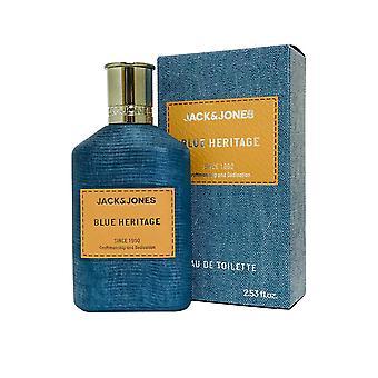 Jack & Jones Blue Heritage Eau de Toilette Spray 75ml