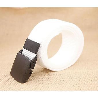 Army Men Adjustable Outdoor Travel Tactical Waist Belt With Plastic Buckle