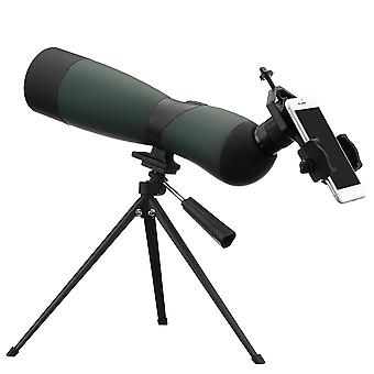 25-75x70 Zoom Monocular HD Optic Bird Spotting Telescope With Tripod Phone Holder Outdoor Camping