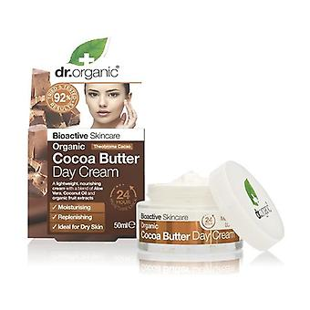 Organic Cocoa Butter - Day Cream 50 ml of cream