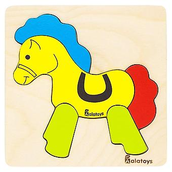 "Alatoys Wooden  Puzzle ""Horse"""