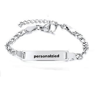 Stainless Steel Family Bracelet