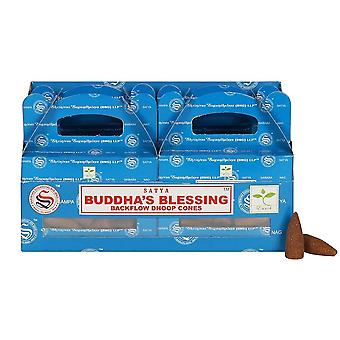 Satya Buddhas Blessing Backflow Incense Cones (Pack of 144)