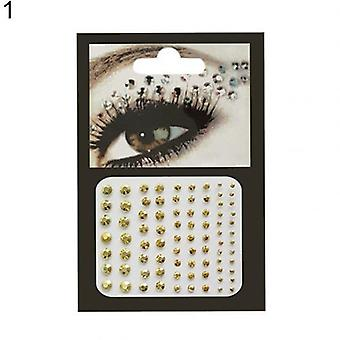 Brokat dla oczu Tatuaż Diament makijaż Eyeliner Cień do powiek Naklejka na twarz