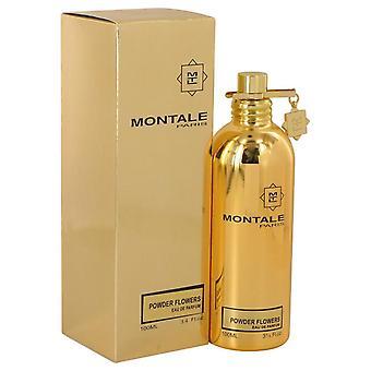 Montale Pulver Blumen Eau De Parfum Spray von Montale 3.4 oz Eau De Parfum Spray