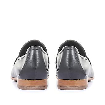 Jones Bootmaker Femmes King Bird Leather Penny Loafers