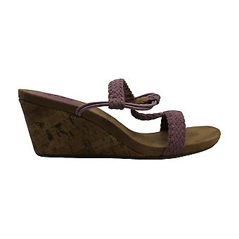 Stil & Co. Womens Mulan öppen tå Casual plattform sandaler