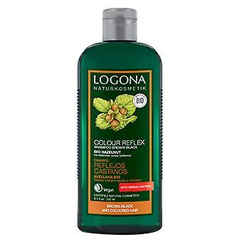 Logona Bio Champú cuidado del Color Castaño Avellana 250 ml