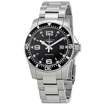 Longines HydroConquest Black Dial Men's 41mm Watch L37404566