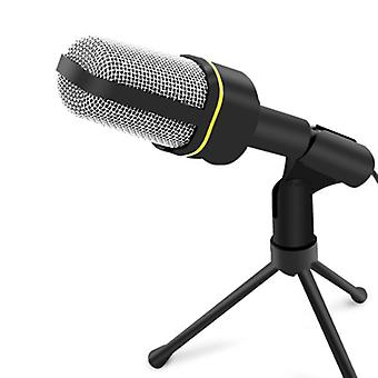 ammattimainen tallennusmikrofoni jalustalla lähetystä varten,chat,video