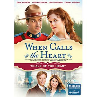 When Calls the Heart: (Trials of the Heart) [DVD] USA import