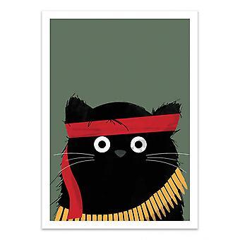 Art-Poster - Cat Rambo - Doozal
