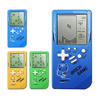 Retro Childhood Tetris Handheld Game Player Yellow