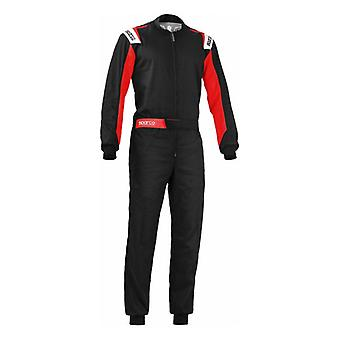 Karting Suit Sparco Rookie Black/Red (Size S)
