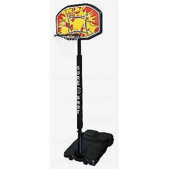 Sure Shot Basketball Telescopic Portable Unit With Backboard and Pole Padding