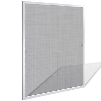 مصبغة الحشرات للنوافذ 80 × 100 سم أبيض