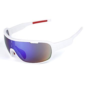 Polariserade sportcykling solglasögon för män kvinnor sportglasögon UV-skydd