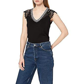 Morgan 201-derrie.n T-Shirt, Black (Noir Noir), Small (One Size: TS) Woman