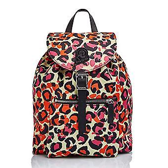 Invicta Backpack MINI ALPINE - Animalier Fuxia Leopardato - Woman - Eco Material Water repellent