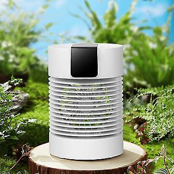 Mini ventilador colgando cuello manteles refrigerados a mano auto-agitando la cabeza ventilador frío usb 360 grados agitar el ventilador de spray de cabeza
