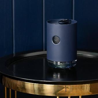 1L Air Humidifier USB Cool Mist Maker 3000mAh Essential Oil Diffuser Humidifiers(Dark Blue)
