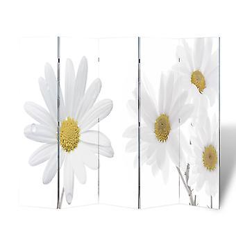 vidaXL huoneenjakaja taitettava 200 x 170 cm kukka