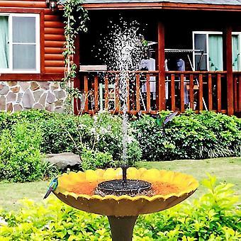 Solar fountain water pump for bird bath dt4573