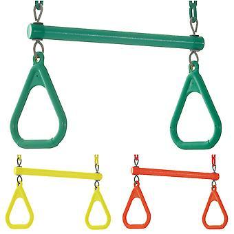 Kids Trapeze Bar Swing Seat & Rings | Speeltoestellen en accessoires voor kinderen