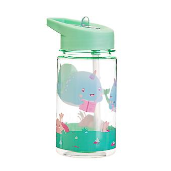 Sass &Belle Drink Up Alma Narwhal Botella de agua