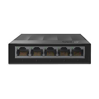 TP-LINK LS1005G switch de red Gigabit Ethernet no administrado (10/100/1000) Negro Reino Unido Enchufe