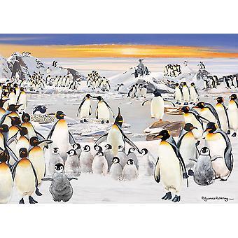 Otter House Penguin Party Jigsaw Puzzle (1000 Pieces)