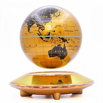 Magnetic Levitation Globe With Colorful Gradient Lights