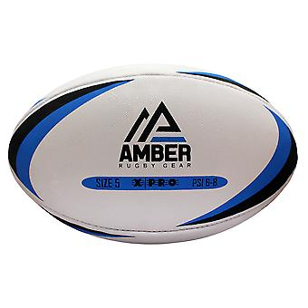 Amber Unisex Rugby Ball Training Sports Match X- Pro league Size 5