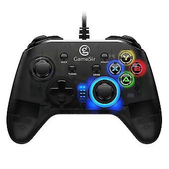 Gamesir T4w Usb السلكية تحكم التسالي، Gamepad مع الاهتزاز ووظيفة توربو