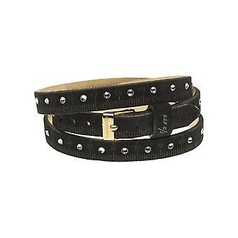 Il mezzometro strass leather bracelet  bms1307_s
