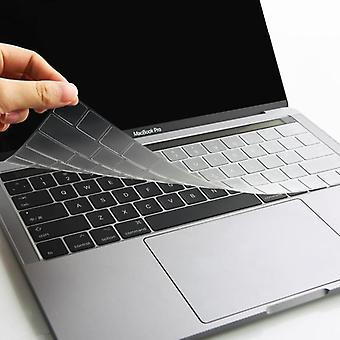 Macbook touch barin näppäimistösuojat venäjänkielinen näppäimistön kansi silikoni