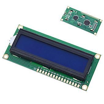 1ks / šarže Lcd modul Modrá zelená obrazovka Iic / i2c 1602