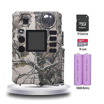 Mini 100ft 0.7s bolyguard full set of hunting trail game scoutguard wild cameras tf card batteries