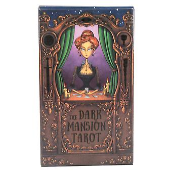 Dark Mansion Tarot Cards Deck 78 Family Parent-child Party Board Game Divination