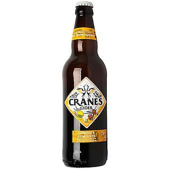 Cranes Lemons and Kumquats Cider