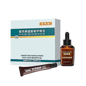 Neue Pro Scar Tattoo Haut Reparatur Creme Vitiligo Cover Versteckt Flecken Birthmarks| Body Glitter