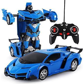 1:18 Muuntajat nopea kaukosäädin Sähköinen kaukosäädin Auto Rc Auto Robots Lelut Lapsille Chrismas Lahjat